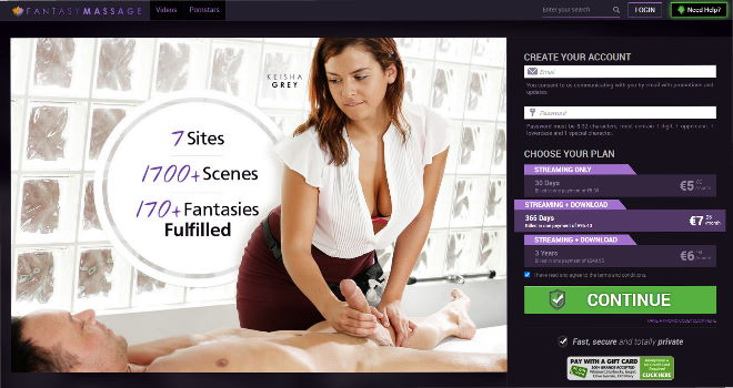 Fantasymassage.com discount